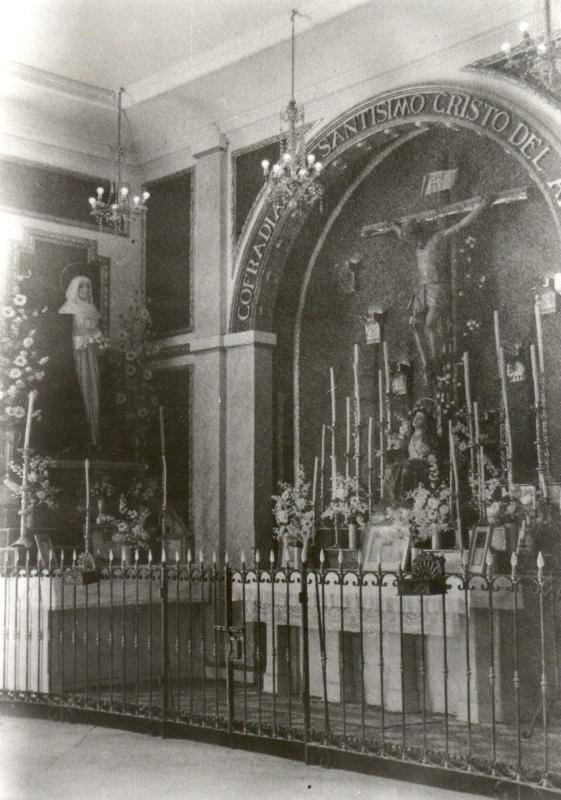 004 Antiguo Altares en la Santuario de la Victoria (finales de los 30)