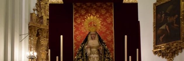 """""""María adquirió la advocación de Caridad al pie de la cruz"""""""