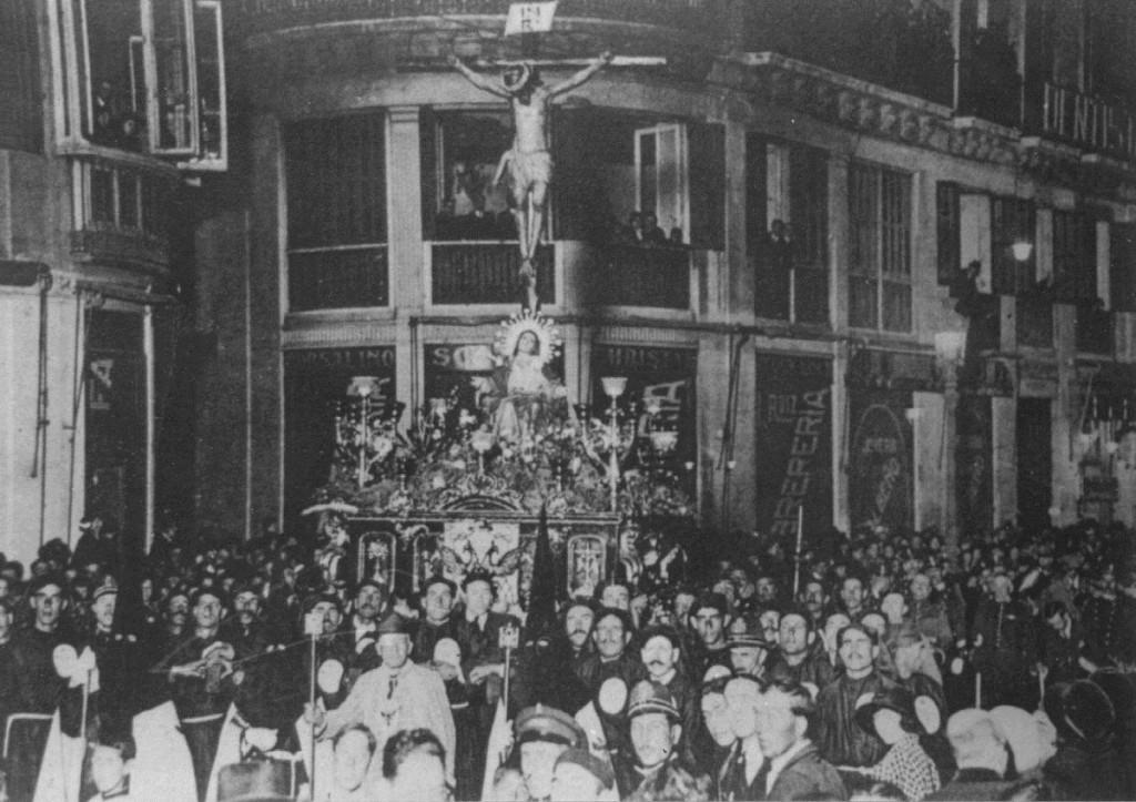Stmo. Cristo del Amor en Calle Larios