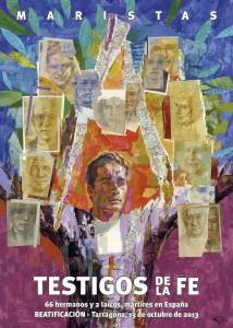cartel martires maristas