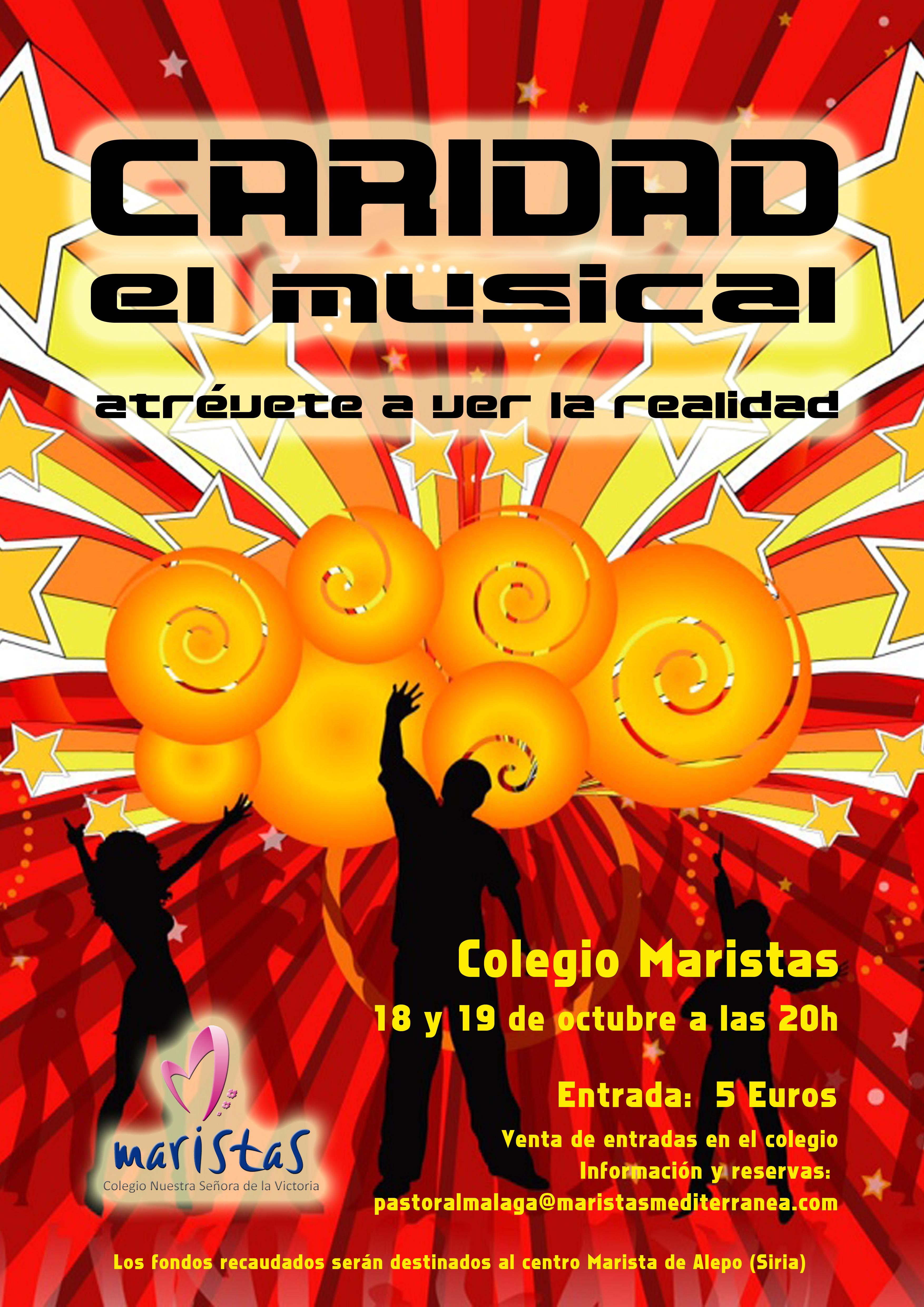 cartel musical caridad