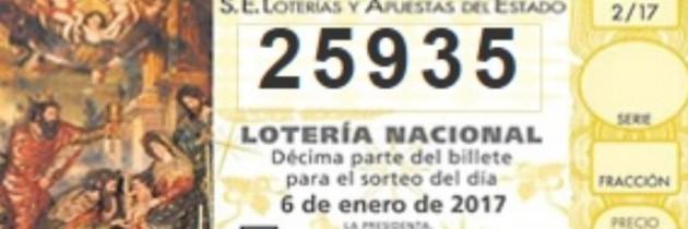Lotería de El Niño: 25935 Venta de Décimos por Internet