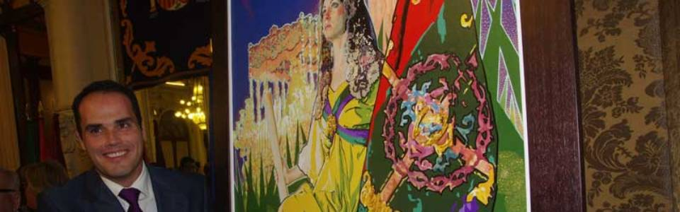 Francisco Naranjo Beltrán pintará el cartel UBI CARITAS 2017